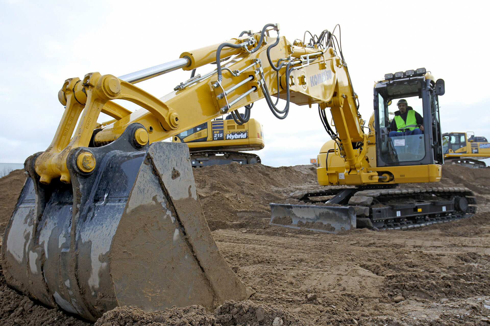 Read more about the article Baggern lernen bei Komatsu