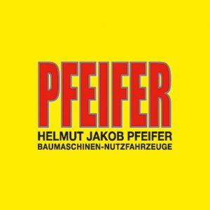 logo pfeifer baumaschinen nutzfahrzeuge