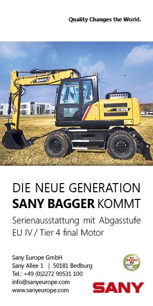 Werbung: SANY