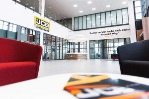 Read more about the article Neue JCB-Deutschland-Zentrale in Frechen bei Köln