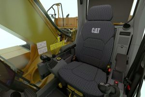 PROTRADER0220 Neuer Bagger voll auf Zack Cat326 Kabine