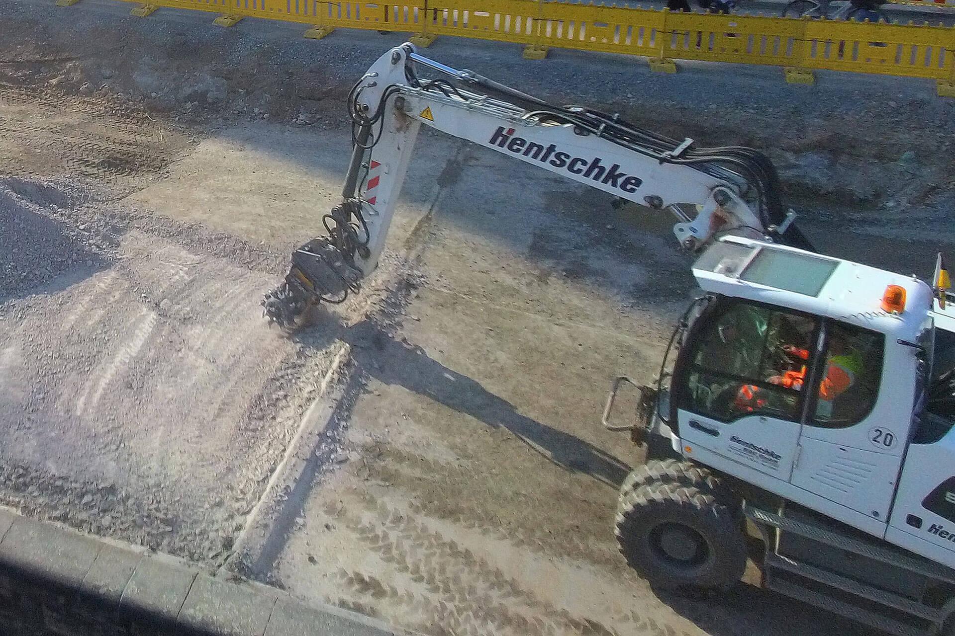 MB R800 hilft bei Brückensanierung