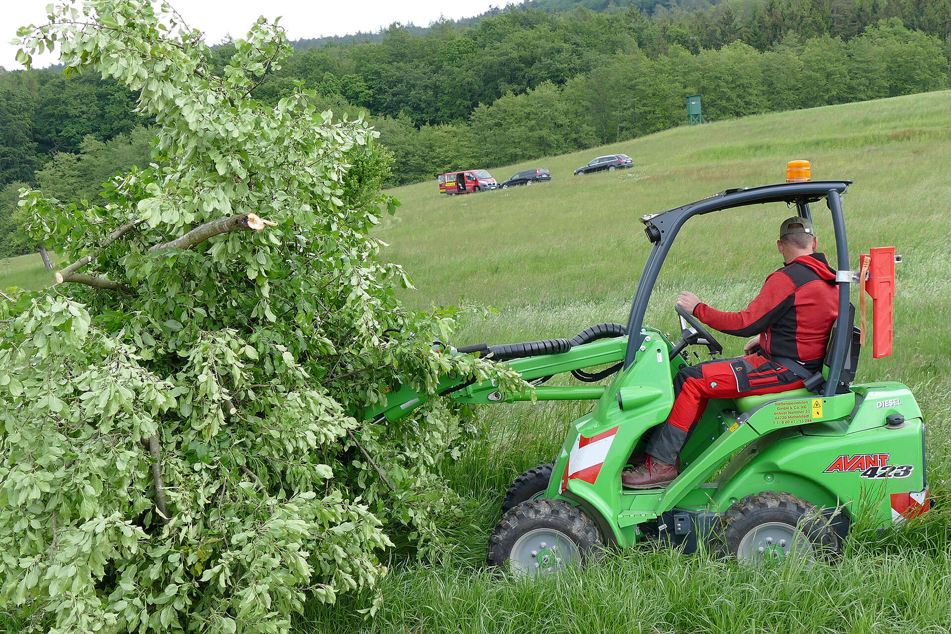 Einsatz auf Wald und Wiese