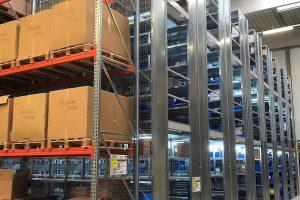 Optimale Teileverfügbarkeit und Schnelligkeit bei der Auslieferung