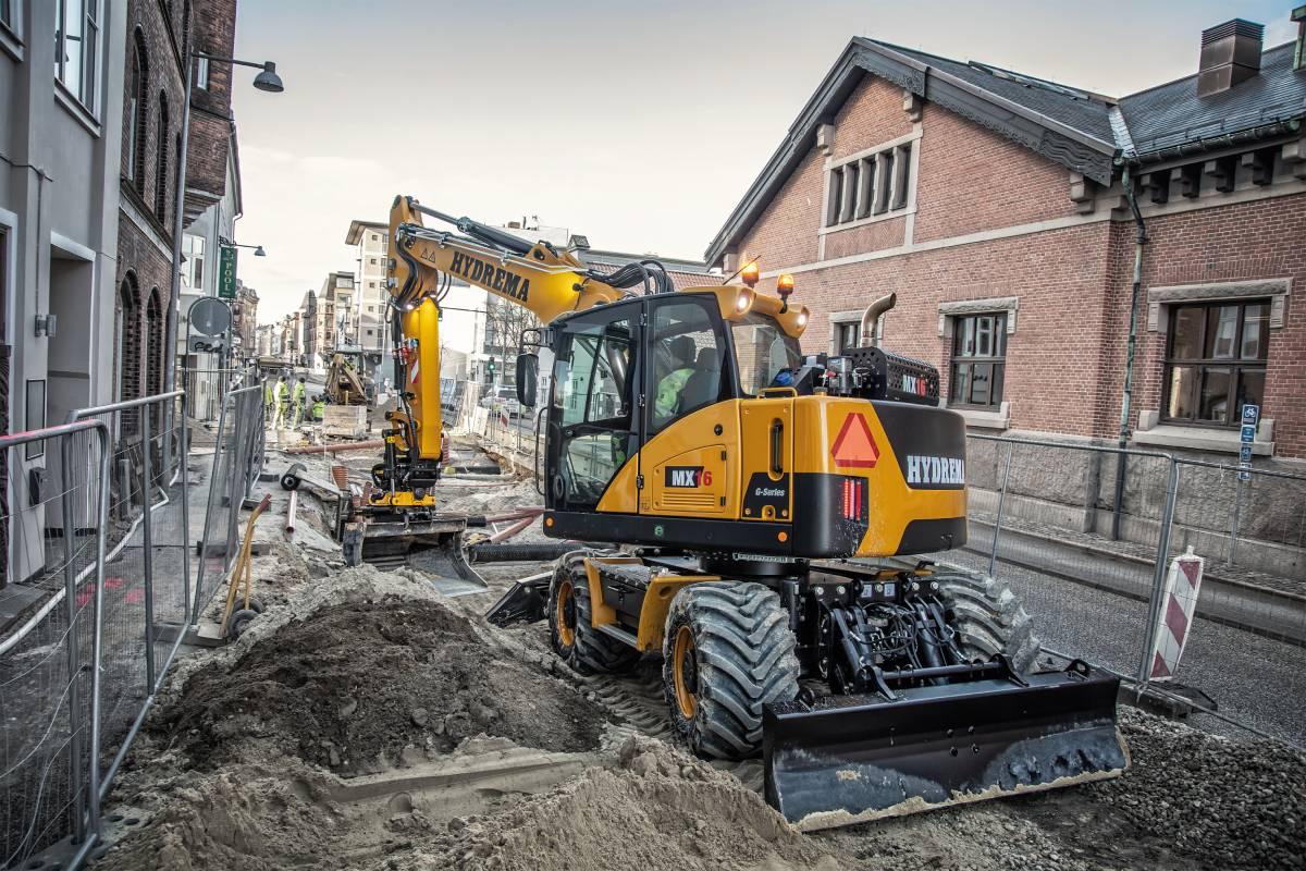 Read more about the article Mehr Leistung und Komfort – die HYDREMA-Citybagger lassen die Muskeln spielen…