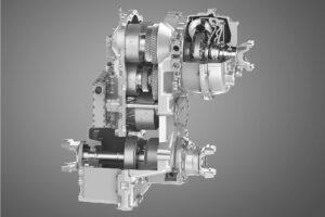 Das neue leistungsverzweigte Stufenlosgetriebe (Continuously Variable Transmission) des Spezialisten ZF