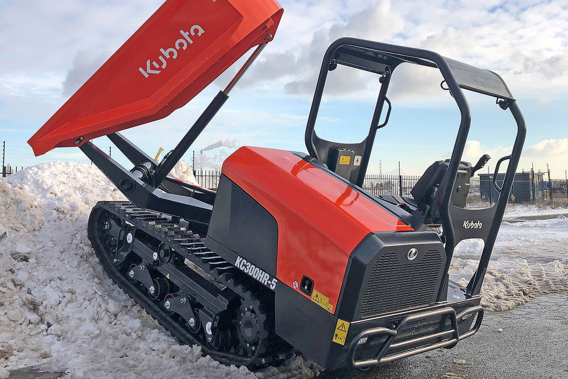 Read more about the article Kettendumper mit Abgasstufe V