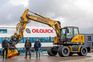 Read more about the article Volle Kraft am Tiltrotator