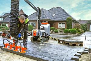 Read more about the article Kleine Flächen leichter pflastern
