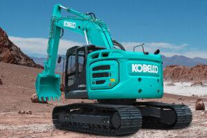 Der neue Kurzheck-Bagger von Kobelco