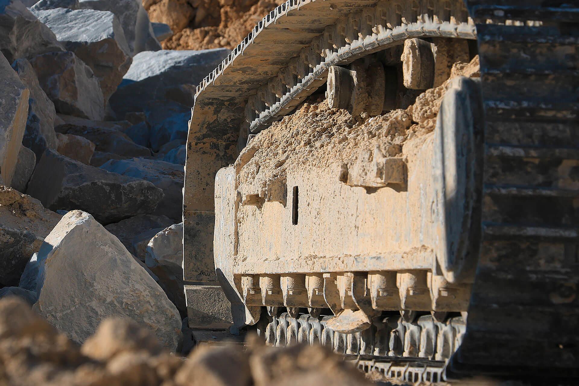 Fahrwerkskomponenten von Berco