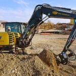 Baufirma setzt auf Vielseitigkeit