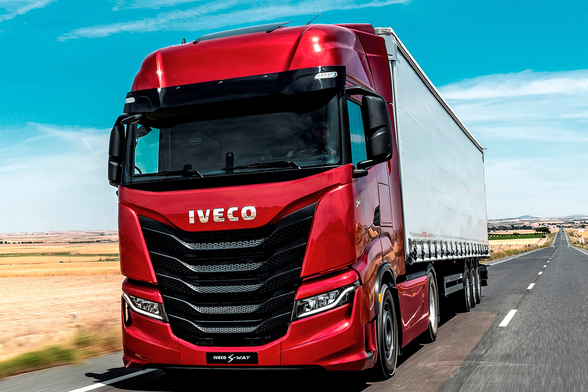 Read more about the article IVECO Der 100 Prozent vernetzte Lkw