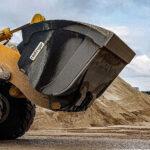 Mega-Schaufel für Sand und Kies