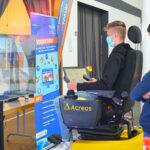 VDBUM Azubi-Cup im Steuern von Baumaschinen am Simulator